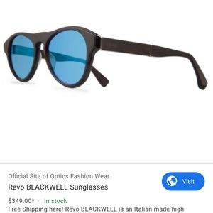 Revo Sunglasses-NEW-blackwell